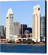 San Diego Skyscrapers Canvas Print