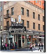 San Francisco Marquards Little Cigar Store On Powell Street - 5d17950 - Painterly Canvas Print