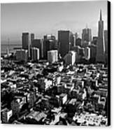 San Francisco Canvas Print by Valeria Donaldson
