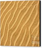 Sand Ripples Abstract Canvas Print