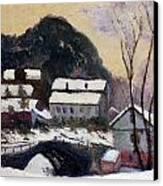 Sandviken Norway Canvas Print