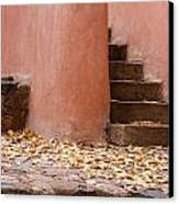 Santa Fe Adobe Canvas Print by Denice Breaux