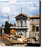Santi Domenico E Sisto Canvas Print