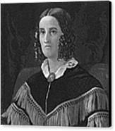 Sarah Childress Polk Canvas Print by Granger