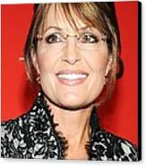 Sarah Palin At Arrivals For Time 100 Canvas Print by Everett
