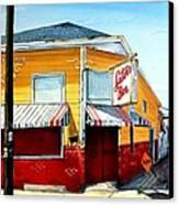 Saturn Bar Canvas Print by Terry J Marks Sr