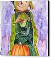 Scarecrow Canvas Print by John Smeulders
