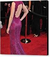 Scarlett Johansson Wearing Dolce & Canvas Print