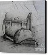 Still Life Study Drawing Practice Canvas Print by Tanmay Singh