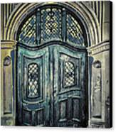 Schoolhouse Entrance Canvas Print by Jutta Maria Pusl