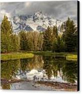 Schwabacher's Landing Canvas Print by Charles Warren