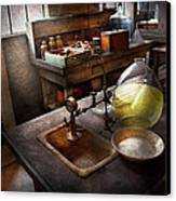 Science - Chemist - Scientific Discoveries  Canvas Print by Mike Savad