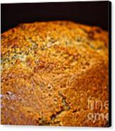 Scratch Built Bread Canvas Print by Susan Herber