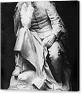 Sculpture Of Kaiser William II, Title Canvas Print by Everett