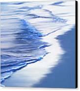 Sea Foam Canvas Print by Suni Roveto