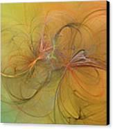 Sea Grass Sunset Canvas Print by Betsy Knapp