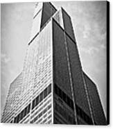 Sears-willis Tower Chicago Canvas Print by Paul Velgos