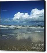 Seascape.normandy.france Canvas Print by Bernard Jaubert