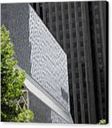 Seattle Central Library Canvas Print by Ed Rooney