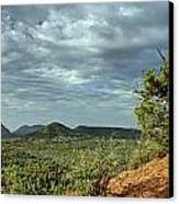 Sedona From The Top Of Jordan Trail Canvas Print
