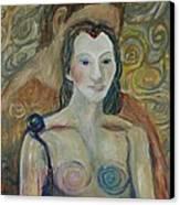 Seduction Canvas Print by Avonelle Kelsey