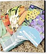 Seed Packs Canvas Print