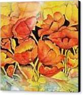 Seeking The Light Canvas Print by Regina Ammerman