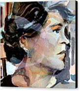 Self Portrait 2002 Canvas Print by Mindy Newman