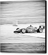 Sepia Racing Canvas Print by Darcy Michaelchuk