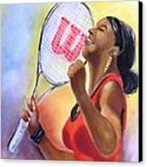 Serena Shines Canvas Print by Carol Allen Anfinsen