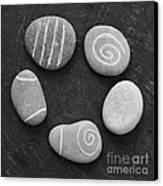 Serenity Stones Canvas Print