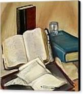 Sermon Preparation Canvas Print