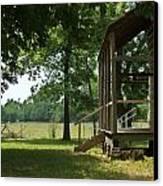 Settlers Cabin Arkansas 2 Canvas Print