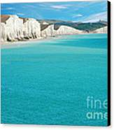 Seven Sisters England Canvas Print by Michael Gray