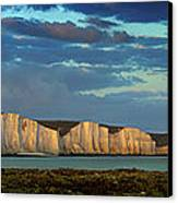 Seven Sisters Panorama Canvas Print by Mark Leader