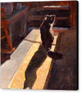 Shadow Cat Canvas Print by Rita Bentley