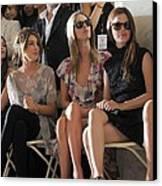 Shenae Grimes, Nicky Hilton, Rachel Canvas Print