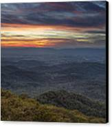 Shenandoah Sunset Canvas Print by Pierre Leclerc Photography
