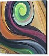 Shift Of Seasons Canvas Print by Derya  Aktas