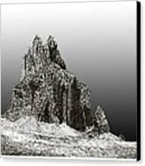 Shiprock Mountain Four Corners Canvas Print