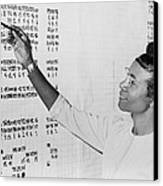 Shirley Chisholm 1924-2005 Monitoring Canvas Print by Everett