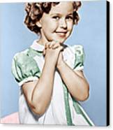 Shirley Temple, Ca. 1936 Canvas Print