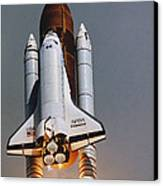 Shuttle Lift-off Canvas Print by Science Source