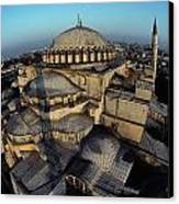 Side Domes And Minarets Gather Canvas Print