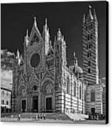 Siena Duomo Canvas Print by Michael Avory