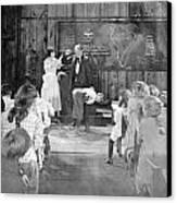 Silent Film Still: School Canvas Print by Granger