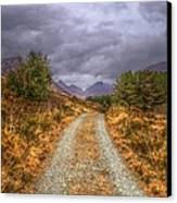 Silent Valley Road Canvas Print by Matthew Green