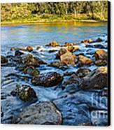 Silk Water Canvas Print
