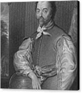Sir Francis Drake, English Explorer Canvas Print by Photo Researchers