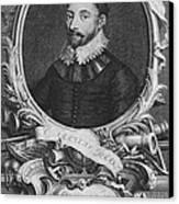 Sir Francis Drake, English Explorer Canvas Print by Photo Researchers, Inc.